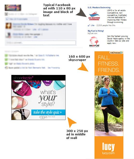larger ads on Facebook
