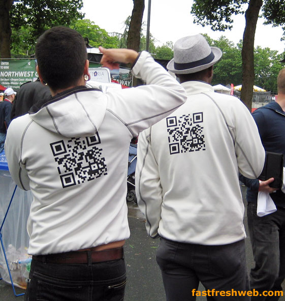 qr codes as fashion statement
