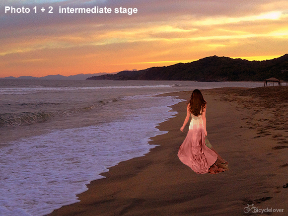 Photoshop Composite Intermediate stage