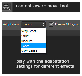 content-aware move tool in Photoshop CS6