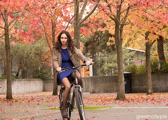 Beauty & The Bicycle by Green City Pix
