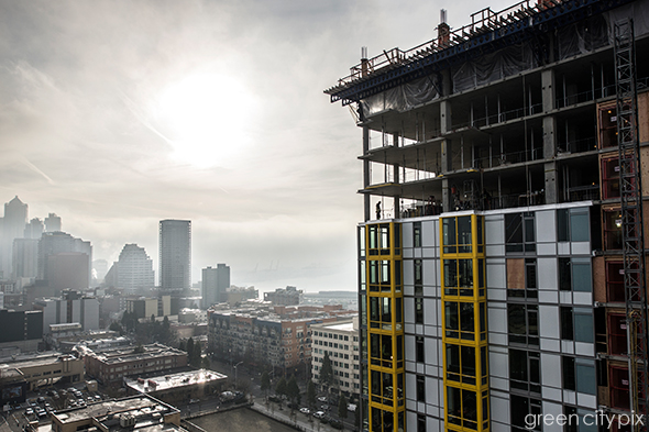 Construction boom in Seattle